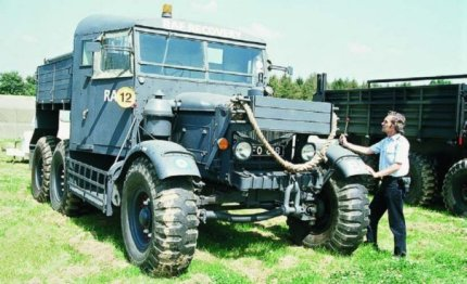 1940 Scammell Pioneer SV-2S, 6x6