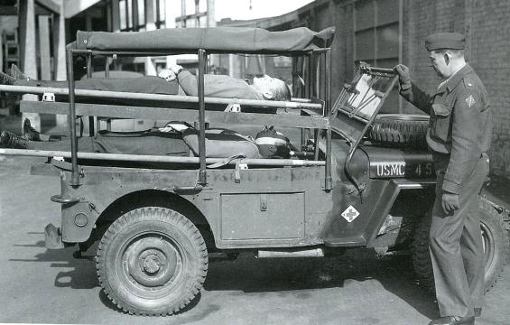 1943 JEEP Holden-GM-Ambulance australia 4
