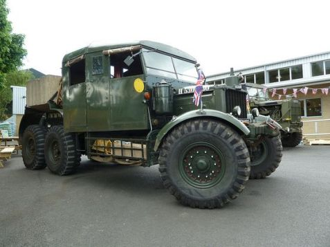 1943 Scammell Pioneer Ballast Tractor
