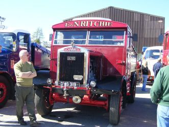 1945 Scammell showtrac ballast tractor
