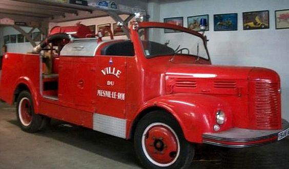 1946 hotchkiss pl20 sapeur pompiers