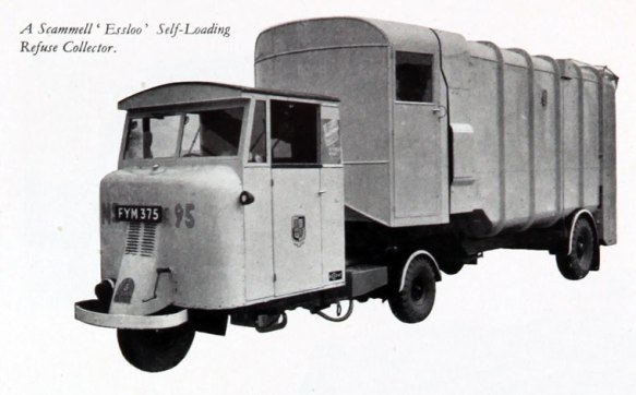 1946 VLN-Scammell self loading refuse collector