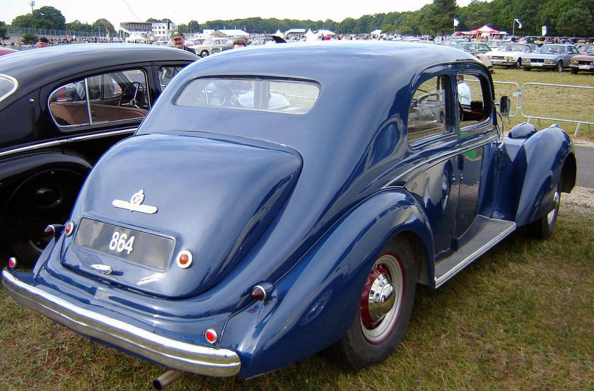 1948 Hotchkiss 864 S49 'Roussillon' 2dr rear