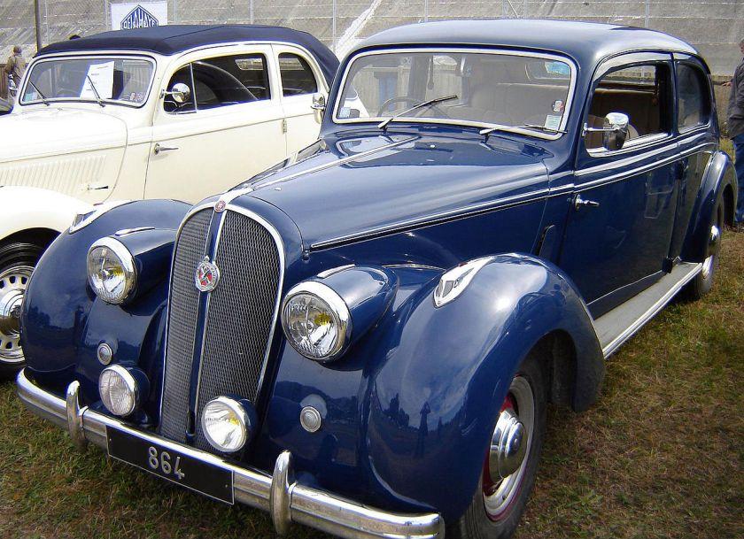 1948 Hotchkiss 864 S49 'Roussillon' 2dr