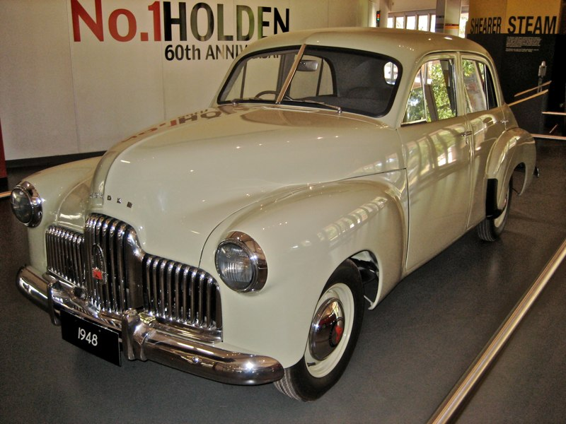 1948 The First Holden 48-215. Touched by a Prime Minister