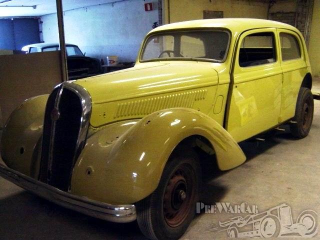1949 Hotchkiss 686 6 cylinder, 3485cc Cabourg, Conduite Interieure 1949