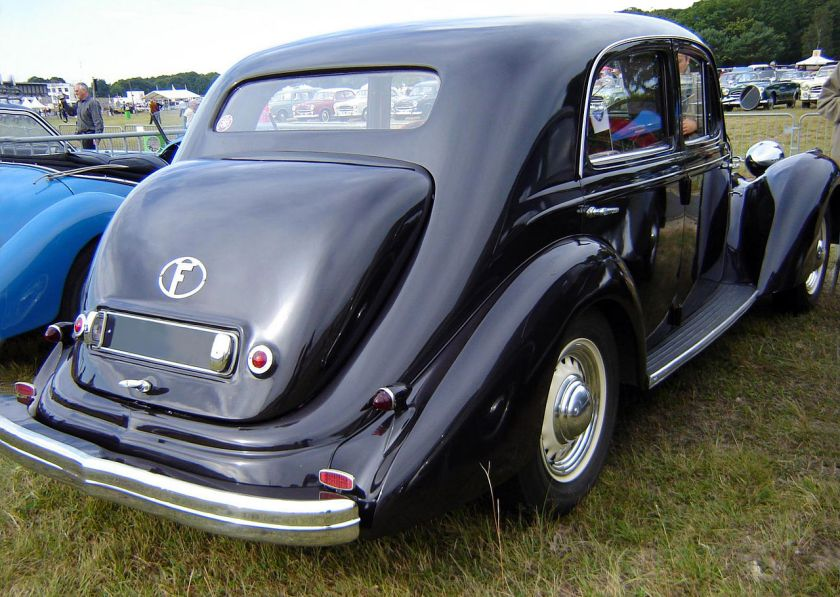 1949 Hotchkiss 864 S49 'Artois' rear