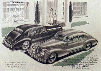 1949 Hotchkiss artois berline
