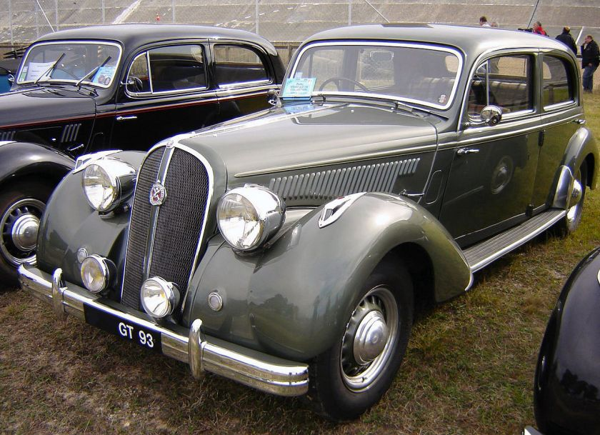 1949 Hotchkiss Type 686 S49 Gascogne front
