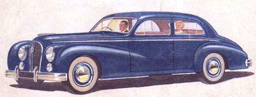 1950 Hotchkiss 13-50 anjou berline