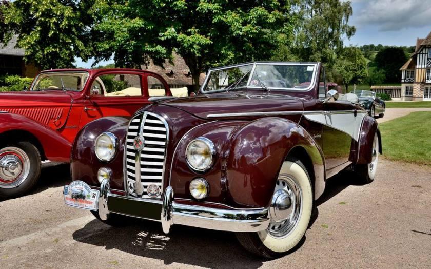 1950 Hotchkiss Anjou 1350 cabriolet Saint-Tropez