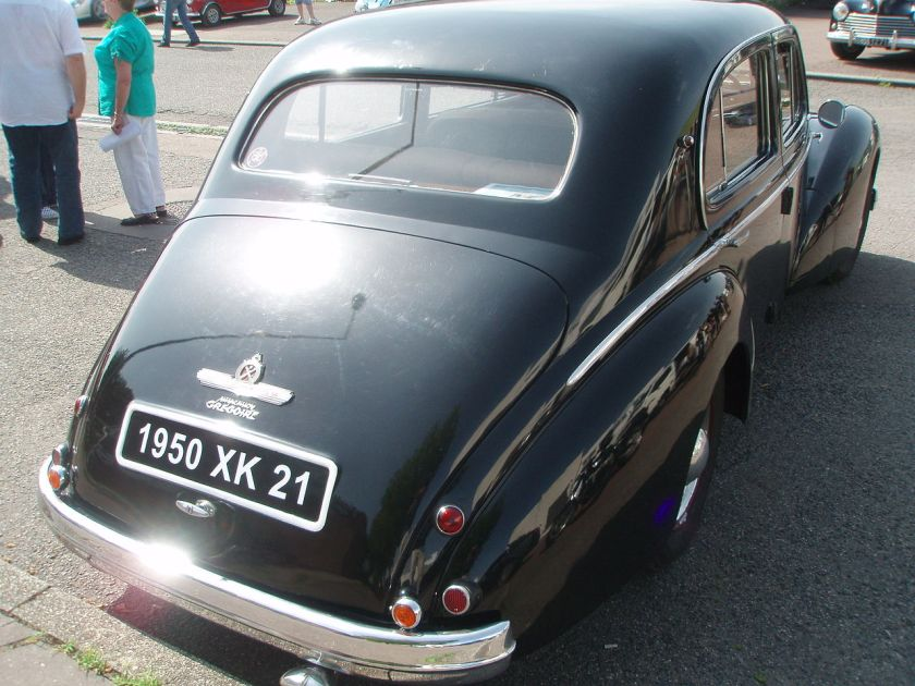 1950 Hotchkiss Anjou rear