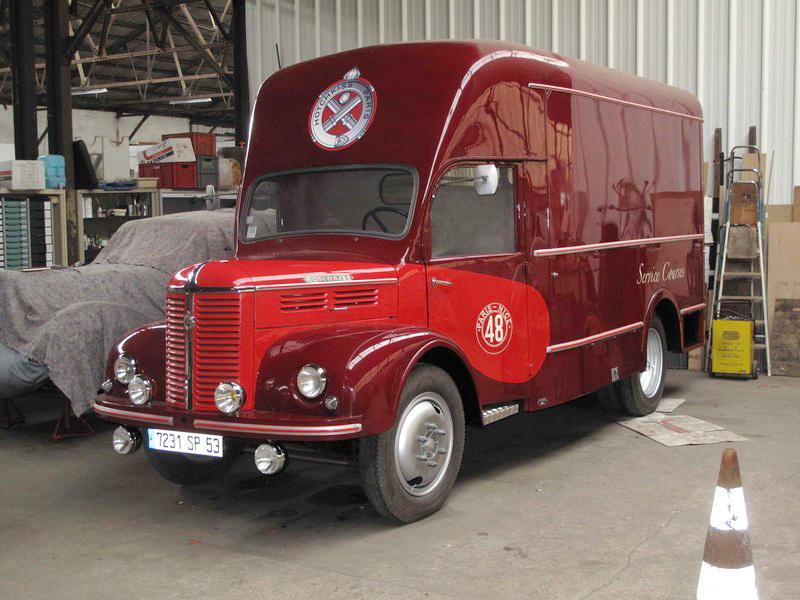 1950 Hotchkiss DH 50