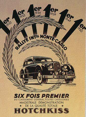 1950 hotchkiss s-49 reklame rmc