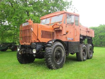 1950s Scammell Explorer 6x6 recovery vehicle