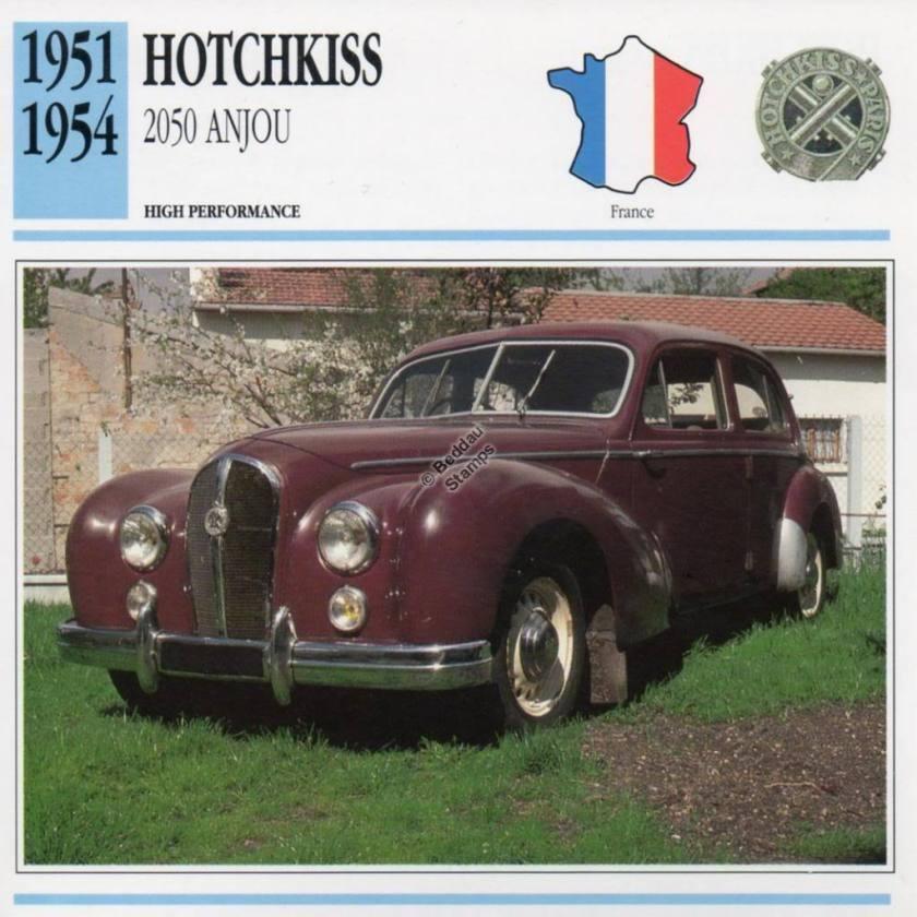 1951-1954 HOTCHKISS 2050 ANJOU