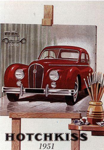 1951 Hotchkiss anjou 13-50