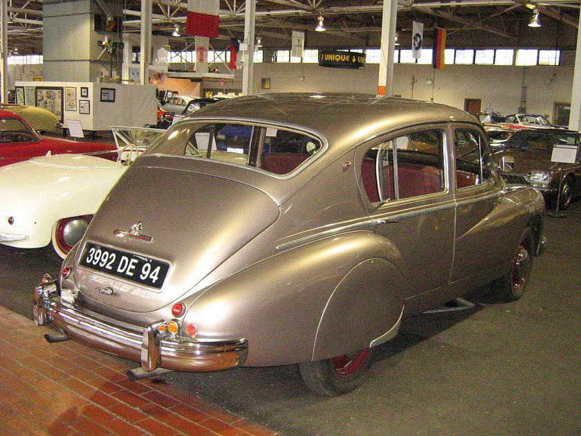 1951 Hotchkiss Gregoire rear