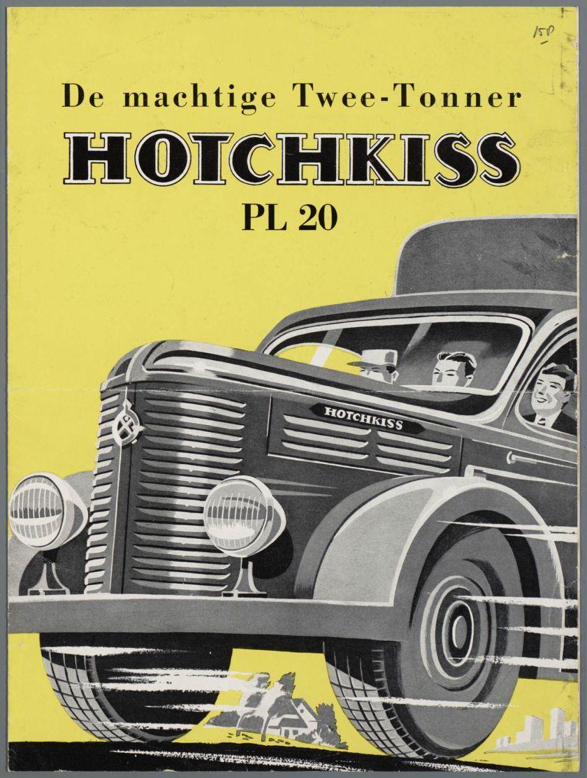 1951 Hotchkiss PL 20