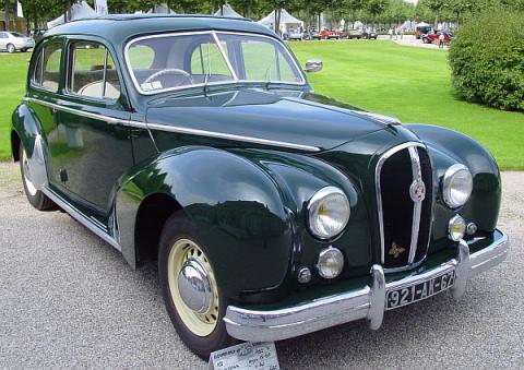 1952 Hotchkiss Anjou 13-50