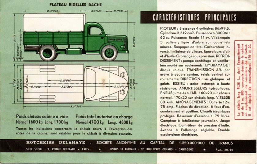 1952 HOTCHKISS PL 25