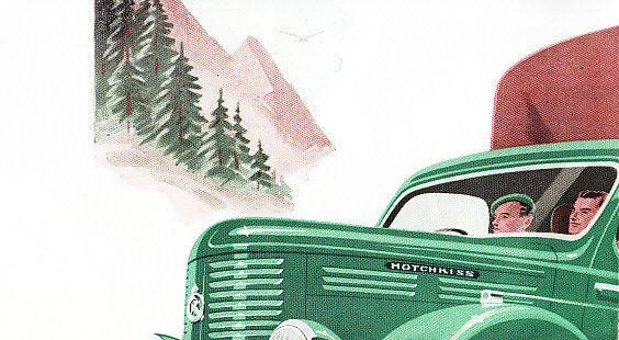 1952 HOTCHKISS PL25 TRUCK BROCHURE d