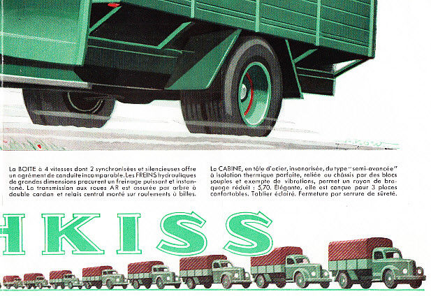 1952 HOTCHKISS PL25 TRUCK BROCHURE g