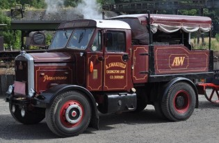 1952 Scammell 20LA ballast tractor named Perseverance