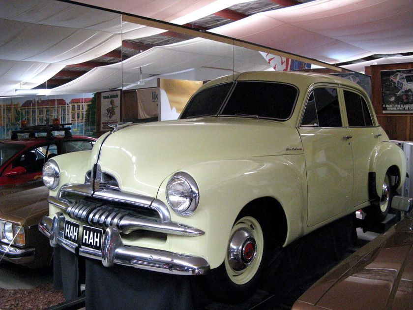 1953-1956 Holden FJ Sedan