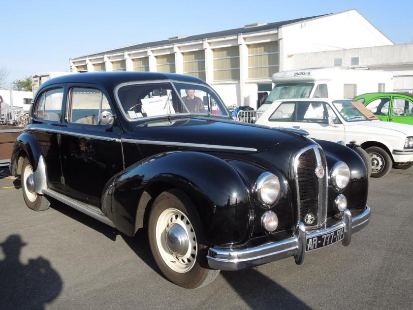 1953 Hotchkiss Anjou 13CV