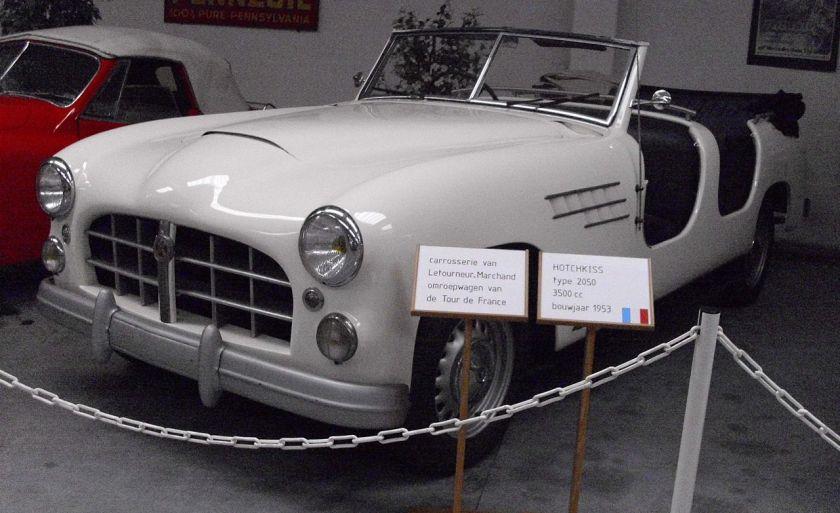 1953 Hotchkiss Antheor 20.50 Kübelwagen von Letourneur & Marchand