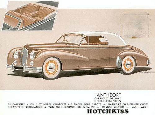 1953 Hotchkiss antheor ad