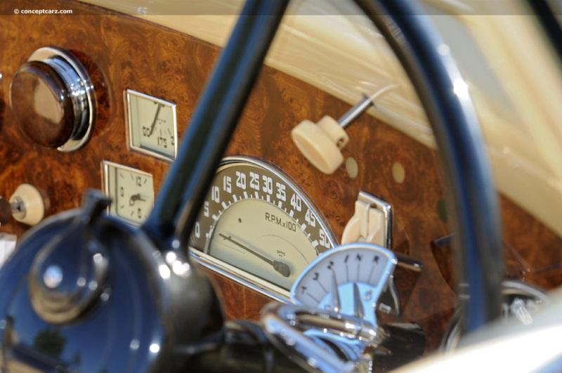 1953 Hotchkiss-Gregoire-DV-12-SJ i02-800 dashboard
