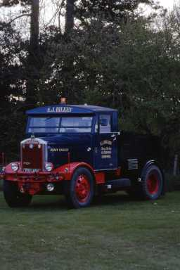 1953 Scammell 20LA ballast tractor, Yeovil