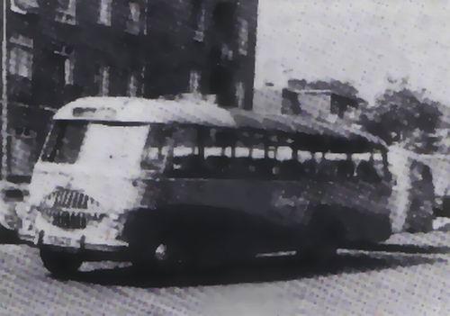 1954 Bedford SB Bedford carr ECF nr 19