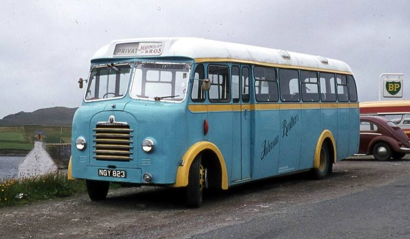 1954 Bedford SBG with Mulliner body