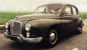 1954 Hotchkiss Gregoire berline