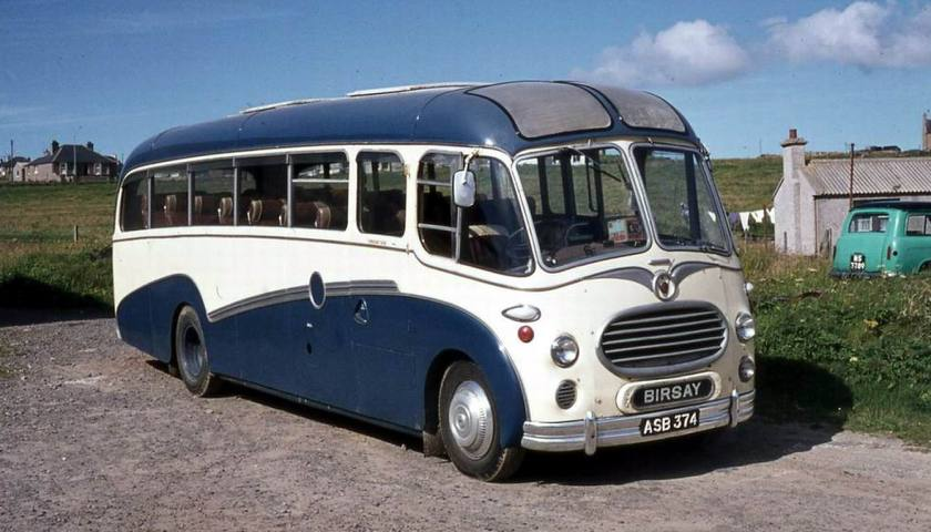 1955 Bedford SBO with Duple C36F bodywork