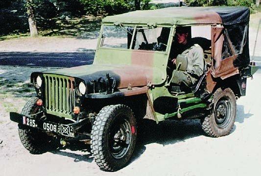 1955 Hotchkiss М-201, 4x4