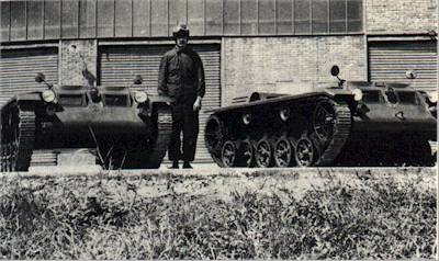 1955 Hotchkiss VP90 Carrier, Armoured, Full-Track, Low Silhouette