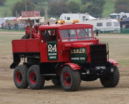 1955 Scammell Explorer fitted as a heavy recovery vehicle