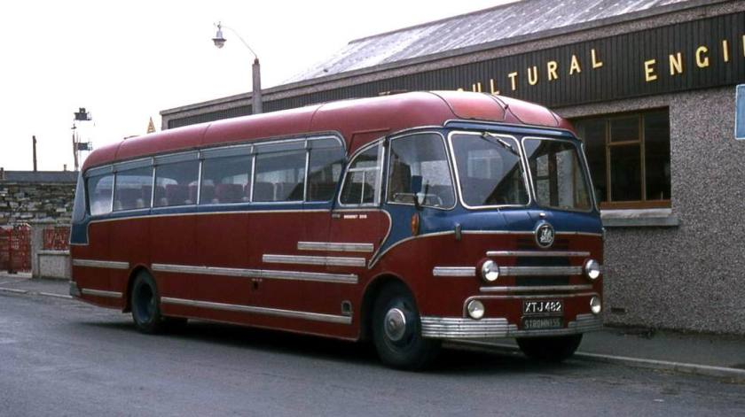 1956 Bedford SBG with Yeates C41C bodywork
