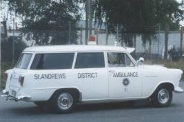 1956 Holden FE Ambulance