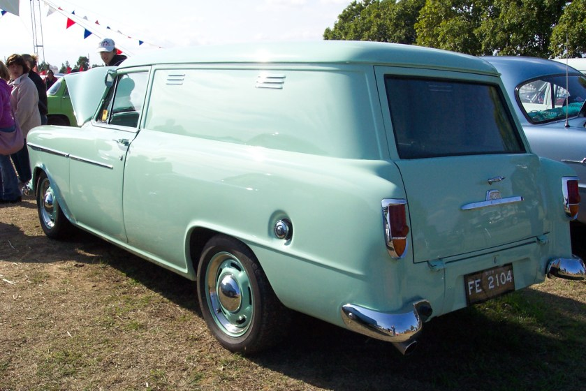 1956 Holden FE panel van