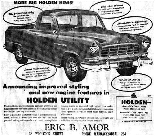 1956 holden utility
