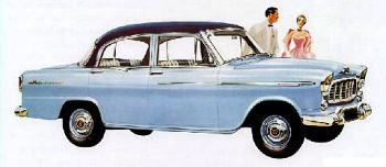 1957 holden fe sales brochure
