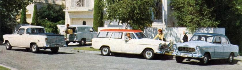 1957 holden range