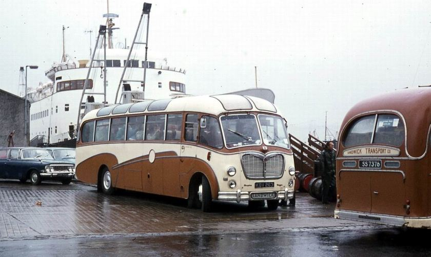 1958 Bedford SB3 with Duple Vega C41F bodywork.