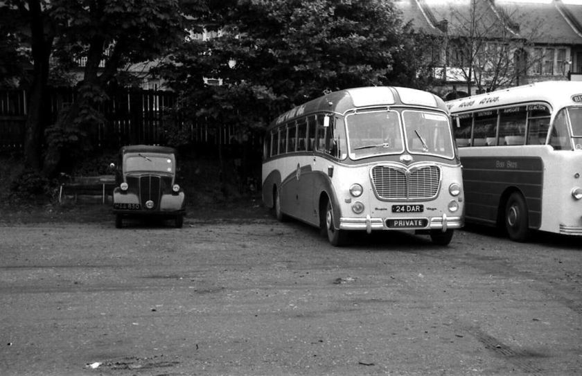 1958 Bedford SB8 24DAR was Duple C41F bodied