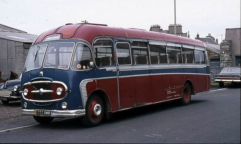 1958 Bedford SB8 with Plaxton C41F bodywork